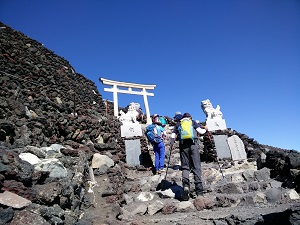 Distant View of Mt Fuji