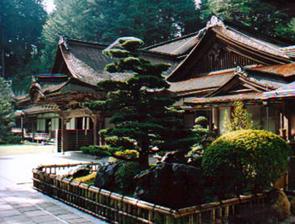 Temple on Mt Koya